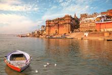 Ancient Varanasi India City Ar...
