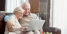 Senior Couple Browsing The Int...