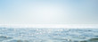 canvas print picture - meeresglitzern panorama