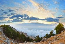Summer Top  Of Mount Aenos, Ke...