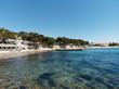 Côte d'azur. Golfe sambracitain. Les Issambres. Pointe de l'Arpillon, plage San Peïre
