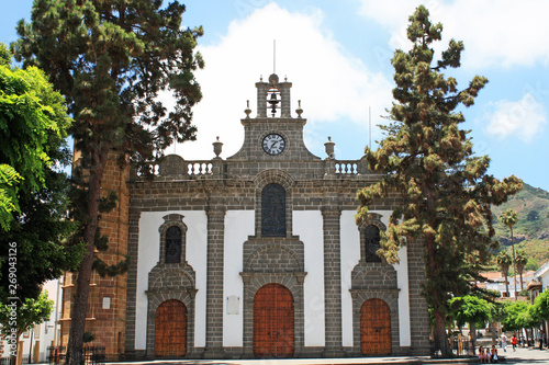 Fotografie, Obraz Kirche in Teror, Gran Canaria
