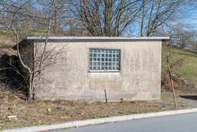Alleine Stehende Einzelne Garage Mit Flachdach, Deutschland