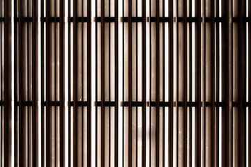 abstract  background  Steel texture wall with light coming through