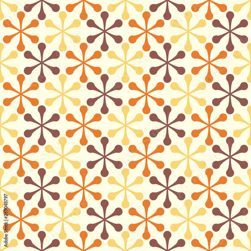 Photo Retro seamless pattern - colorful nostalgic background design