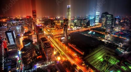 Poster Pekin Downtown Beijing After Rainfall