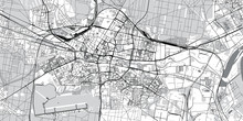 Urban Vector City Map Of Bydgo...