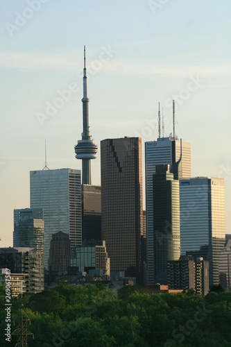 Toronto Skyline from the East