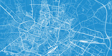 Urban Vector City Map Of Lubli...