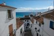 Blick über das Dorf Altea an der Costa Blanca, Spanien