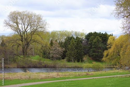 Poster Golf Parks and lakes