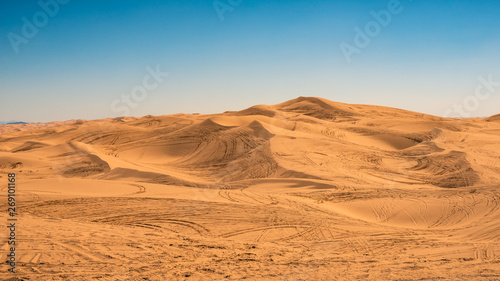Glamis Dunes, California Canvas