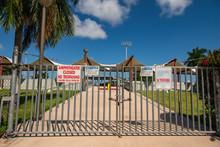 Entrance To The Miami Bayfront...