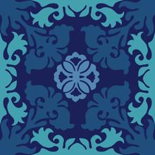 Hawaiian Quilt Illustration, N...