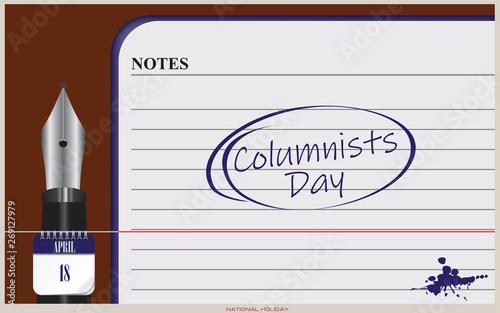 Valokuva  Postcard Columnists Day