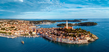 Beautiful Rovinj - Aerial View...