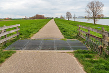 Cattle Grid In A Narrow Cycle ...