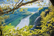 Rock Bridge Bastei And Nature ...