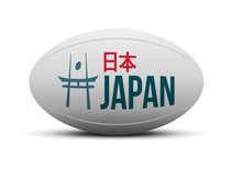 Japan Rugby Logo - Ball