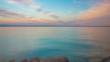 Time lapse in Italy by Lake Garda as peaceful sun set