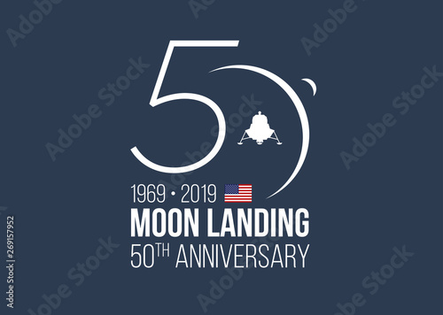 Photographie  MOON LANDING 50th ANNIVERSARY
