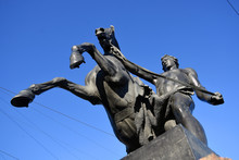 View Of Horse Tamers Monument ...