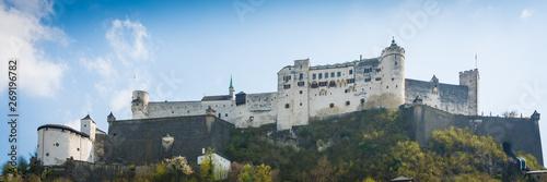 Fotomural Festung Hohensalzburg in der Stadt Salzburg - Panorama