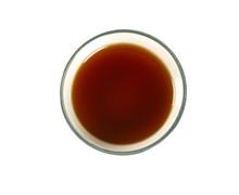 Vanilla Extract Isolated On White