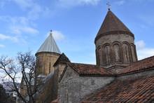 Church Steeples, Ananuri Fortress, Georgia