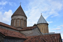 Ananuri Church Roof And Steepl...