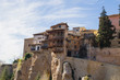 Casas Colgadas, medieval hanging houses on a cliff edge in Cuenca, Spain