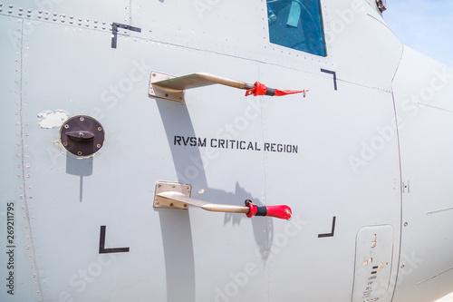 Papel de parede Tubi di pitot per misurare la pressione dinamica di un aereo