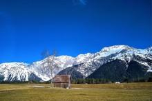 Idylliische Berglandschaft In ...