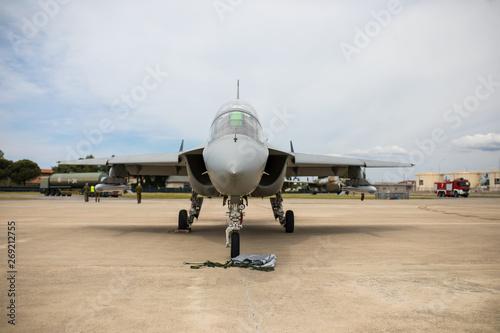 Photographie Aereo militare da combattimento e addestramento avanzato.