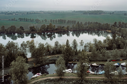 Foto op Plexiglas China Aerial view of Essex