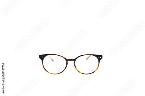 Round Frame Eye Glasses Isolated In White Background Buy