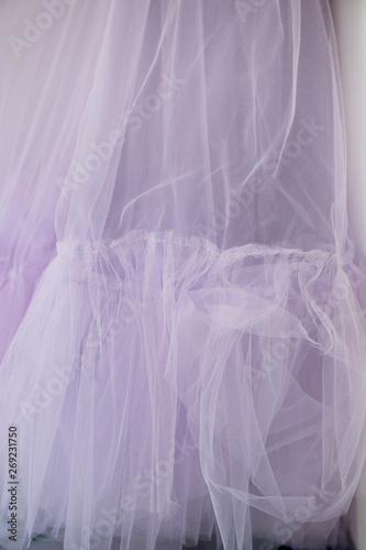 The texture is sheer purple shade of powdery, pastel colors Canvas-taulu