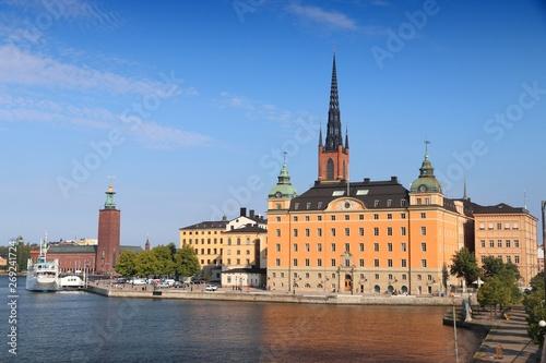 Stampa su Tela  Stockholm