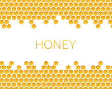 Honeycomb Monochrome Honey Pat...