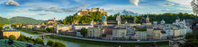 View To Salzburg Skyline From,...