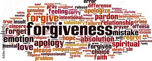 Photo Forgiveness word cloud