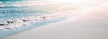 Summer Sand Beach And Seashore...