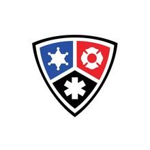 Public Secure Badge Emblem Fla...