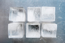Ice Cubes In Rows