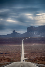 Road Through Monument Valley, ...