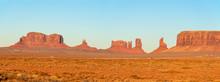 Panorama Of Monument Valley In Arizona, USA