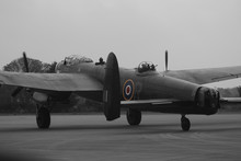 BBMF Avro Lancaster Taxying Co...
