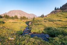 Landscape In The Eagles Nest Wilderness, Colorado