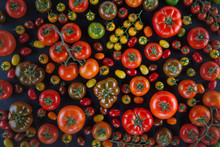 Composition Of All Type Of Tomatoes