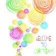 Handwriting text Welcome To Our Team. Conceptual photo introducing another demonstrating to your team mates
